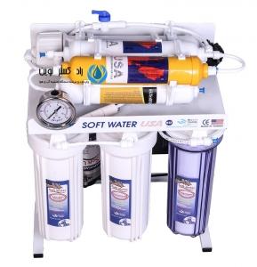دستگاه تصفیه آب 7 مرحله ای قلیایی سافت واتر SOFT WATER_RO_ORP