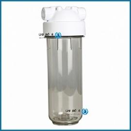 هوزینگ مرحله اول شیشه ای تصفیه آب خانگی