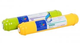 فروش فیلتر دستگاه تصفیه کننده آب تکومن مدل post-mineral مجموعه 2 عددی
