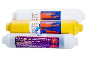 فروش فیلتر دستگاه تصفیه آب مدل RO-3STAGE مجموعه 3 عددی