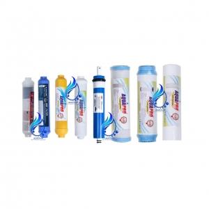 قیمت فیلتر تصفیه آب خانگی آکواپرو مدل RO-8 مجموعه 8 عددی