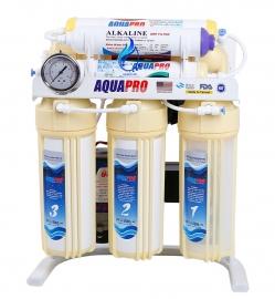 خرید دستگاه تصفیه آب آکواپرو قلیایی مدل AQUA PRO_RO7_Y